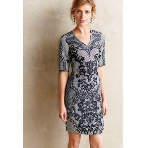 Anthropologie Yoana Baraschi Sketched Lace Dress S